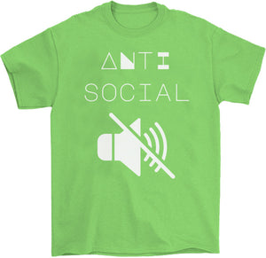 Anti Social T-Shirt by palm-treat.myshopify.com for sale online now - the latest Vaporwave & Soft Grunge Clothing
