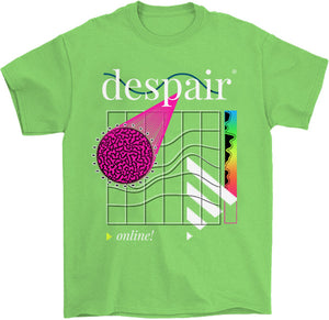 Despair Online T-Shirt - CUSTOM CAT