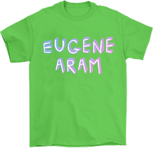 Load image into Gallery viewer, Eugene Aram Block Print T-Shirt