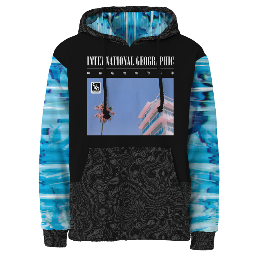 Liquid Crystal All Over Hoodie