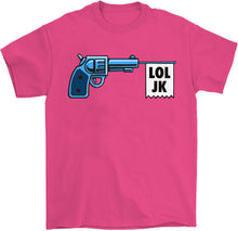 Load image into Gallery viewer, cartoon gangster gun banner shirt