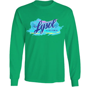 lysol shirt by palm treat