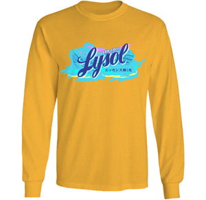 lysol poison long sleeve vaporwave nihilist shirt by palm treat