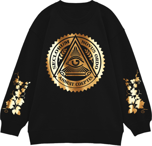 Seclorum Gold Lamé Jumper