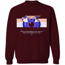 Load image into Gallery viewer, Eyes 8-Bit Stories Crewneck Sweatshirt