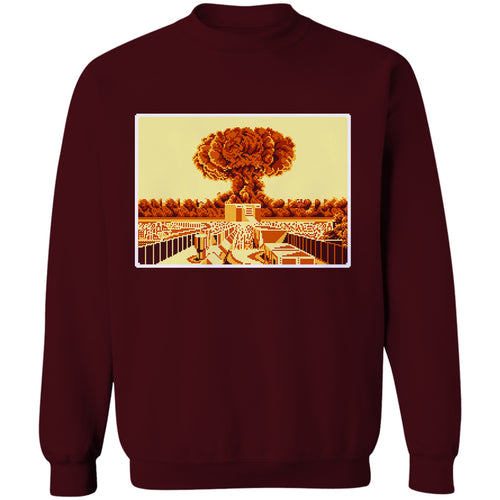 Atomic Bomb 8-Bit Stories Crewneck Sweatshirt