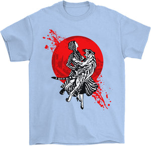 Japanese traditional comic book art pop art Palm Treat T-Shirt