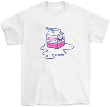 Load image into Gallery viewer, Kawaii Spilled Milk T-Shirt