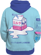 Load image into Gallery viewer, Kawaii Spilled Milk All Over Hoodie