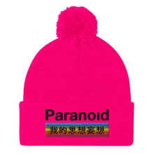 Load image into Gallery viewer, Paranoid Pom-Pom Beanie