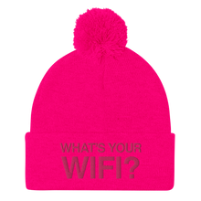 Load image into Gallery viewer, What's Your WiFi? Pom-Pom Beanie