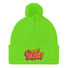 Load image into Gallery viewer, Come On! Pom-Pom Beanie