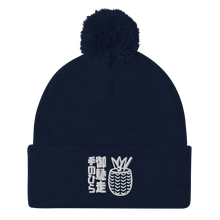 Load image into Gallery viewer, Palm Treat Logo Pom-Pom Beanie