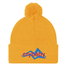 Load image into Gallery viewer, Crybaby Pom-Pom Beanie