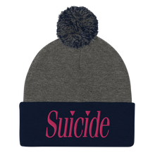 Load image into Gallery viewer, Suicide Pom-Pom Beanie