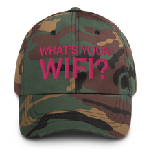 Load image into Gallery viewer, What's Your WiFi? Dad Hat