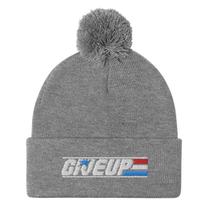Give Up Pom-Pom Beanie