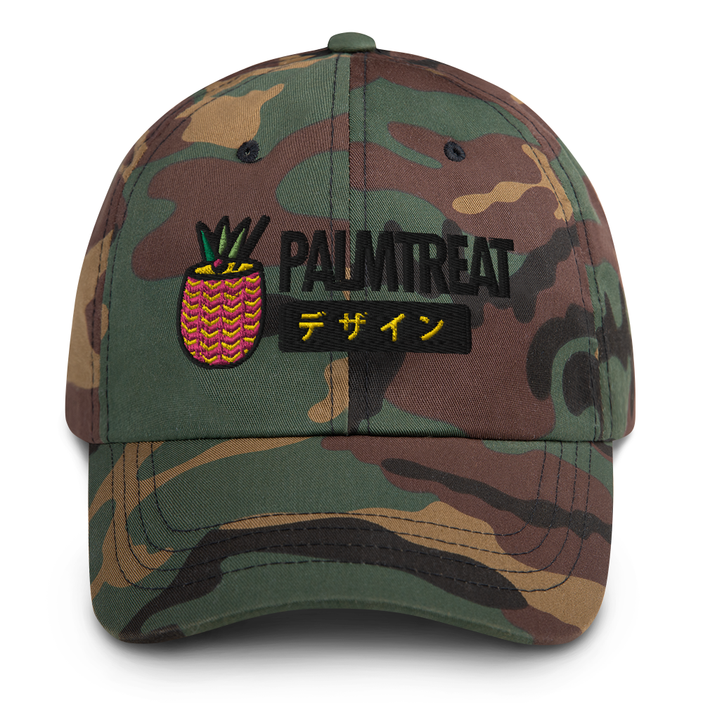 Palm Treat Full Color Dad Hat