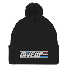 Load image into Gallery viewer, Give Up Pom-Pom Beanie