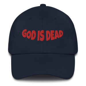 God is Dead Dad Hat