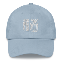 Load image into Gallery viewer, Palm Treat White Out Dad Hat