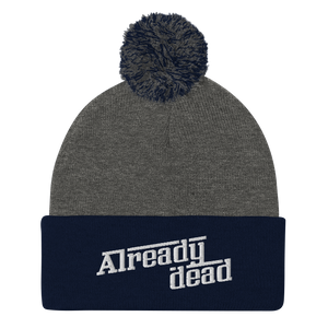 Already Dead Pom-Pom Beanie