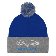 Load image into Gallery viewer, Waiting to Die Pom-Pom Beanie