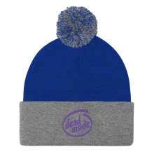 Load image into Gallery viewer, Dead Inside Pom-Pom Beanie