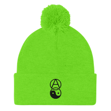 Load image into Gallery viewer, Anarchy Yin Yang Pom-Pom Beanie