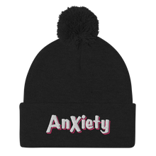 Load image into Gallery viewer, Anxiety Pom-Pom Beanie