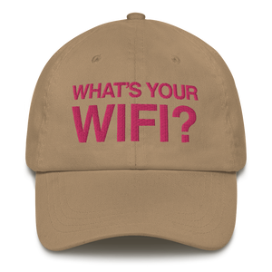 What's Your WiFi? Dad Hat
