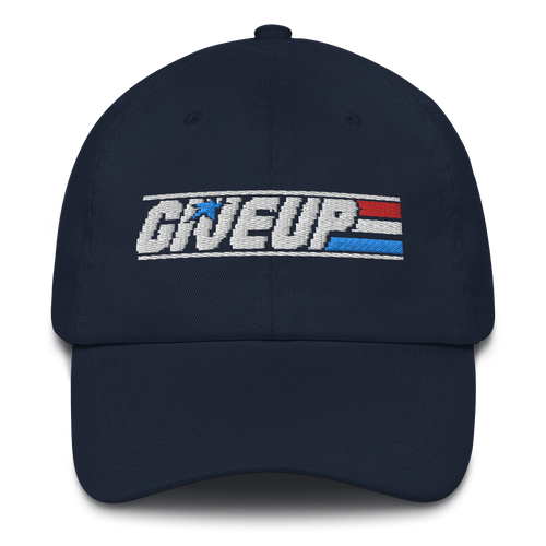 Give Up Dad Hat