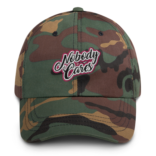 Nobody Cares Dad Hat