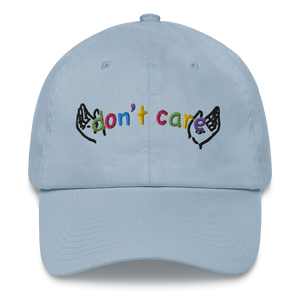 Don't Care Dad Hat