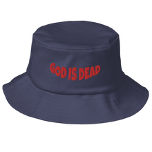 Load image into Gallery viewer, God is Dead Bucket Hat