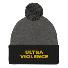 Load image into Gallery viewer, Ultra Violence Pom-Pom Beanie