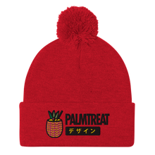 Load image into Gallery viewer, Pineapple Logo Pom-Pom Beanie