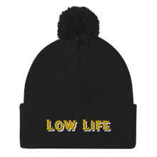 Load image into Gallery viewer, Low Life Pom-Pom Beanie