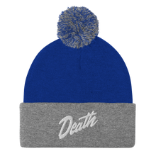 Load image into Gallery viewer, Death Pom-Pom Beanie
