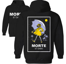 Load image into Gallery viewer, Morte Et Dabo Shirt Palm Treat Morton Salt Girl Skeleton