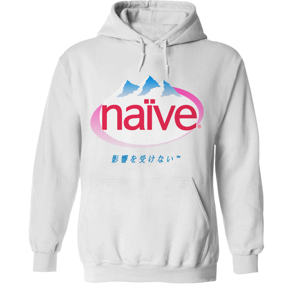 naive evian water vapor wave hoodie by palm treat