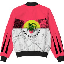 Load image into Gallery viewer, Naturewave Plant Life Bomber Jacket