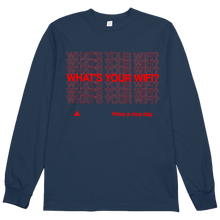 Load image into Gallery viewer, What's Your WiFi? L/S Tee