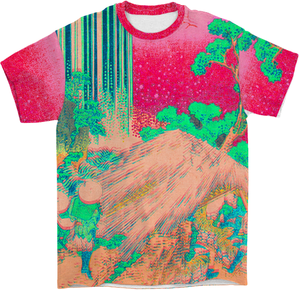 Neon Aesthetic All Over T-Shirt