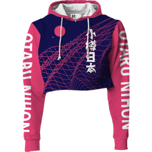 Load image into Gallery viewer, Otaru Nihan Crop Top Hoodie