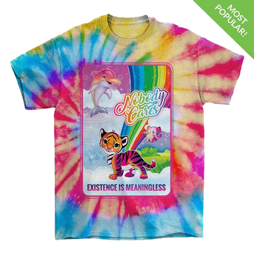 Nobody Cares Tie-Dye T-Shirt