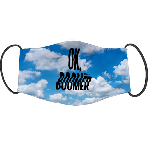 OK, Boomer Face Mask