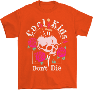 Cool Kids Don't Die Goth T-Shirt