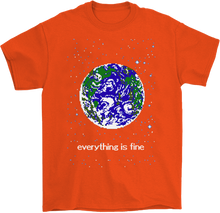 Load image into Gallery viewer, Everything is Fine 8-Bit T-shirt