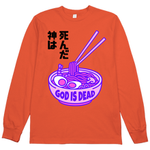 Load image into Gallery viewer, God is Dead L/S Tee